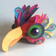 Piaf Paper Mask